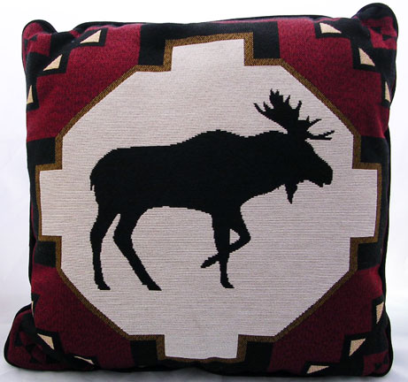High Quality Moose Pattern Pillow